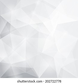 Abstract polygonal background, vector illustration, EPS 10