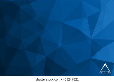 Abstract polygonal background.Geometric background.Triangle vector background.