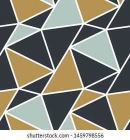 Abstract Polygonal Modern Geometric Seamless Pattern