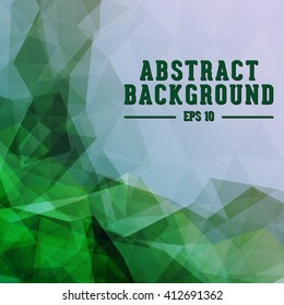 Abstract polygonal texture and background. Vector and illustration.