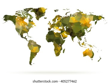 Watercolor World Map Illustration Yellow Green Stock Vector (Royalty on three-dimensional world map, vintage world map, painting world map, jewelry world map, silver world map, unique world map, sepia world map, artistic world map, illustration world map, colorful world map, flowers world map, creative world map, miniature world map, doodle world map, transparent world map, nature world map, old world map, cute world map, blank world map, abstract world map,
