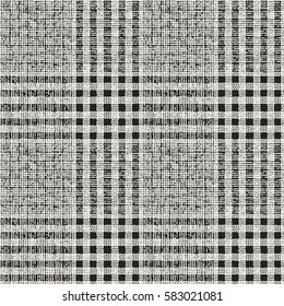 Abstract Prince of Wales checked motif. Seamless pattern.