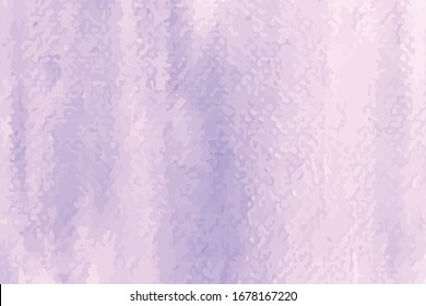 Abstract Purple Painting Watercolor Background. Abstract watercolor hand paint texture. Purple color vector hand drawn watercolor. Pastel background.