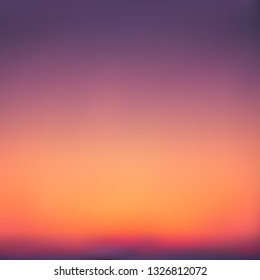 Abstract purple-orange background imitating the sunset. Excellent as a background for the production of any printed product, advertising, or other design.