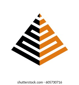 pyramid logo images stock photos vectors shutterstock