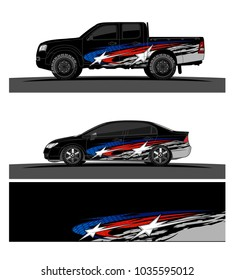 abstract Racing graphic background vector for Truck, boat and vehicle branding. vinyl and wrap ready.