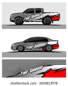 abstract racing graphic kit background for truck car and vehicles