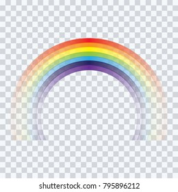 abstract  rainbow cartoon on  background vector illustration