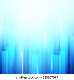 Abstract Rectangles background. Technology concept