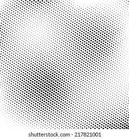Abstract rectangular dotted background
