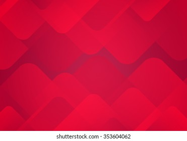 Abstract Red Background with Gradients. Vector Minimal Banner.