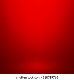 Abstract red gradient. Used as background for product display.