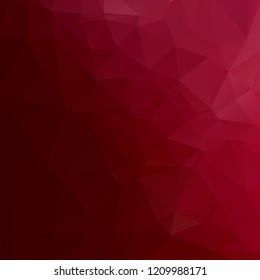 Abstract red polygon texture background