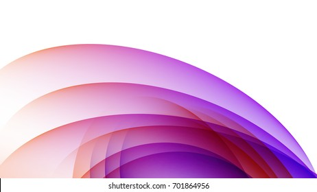 Abstract Red and Purple gradient curve background