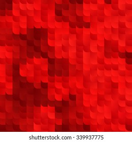 Abstract Red Vector Background with Random Gradient Tiles. Ruby Bg Modern Texture.