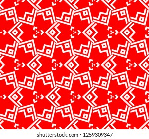 Abstract repeat backdrop. Design for decor, prints, textile, furniture, cloth, digital. Vector monochrome seamless pattern