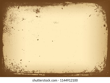 abstract retro paper background template with vintage concept and brown color vector eps 10