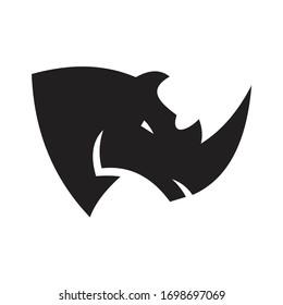 Abstract Rhino Logo Design Template