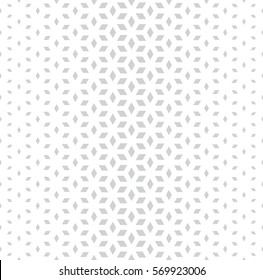 Abstract sacred geometry gray grid halftone cubes pattern