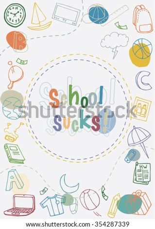 Abstract School Background