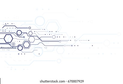 Abstract science and technology background for you design.