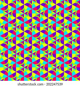 Abstract seamless background. Mosaic. Vector illustration.