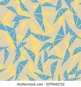 Abstract seamless background with triangles
