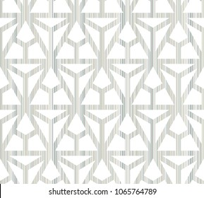 Abstract seamless geometric pattern. Figures with many angles.
