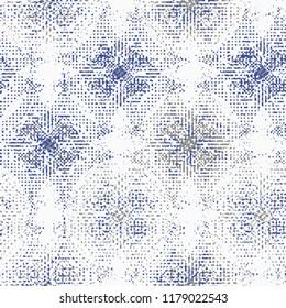 Abstract seamless geometric pattern on texture background. Art deco seamless pattern in retro colors. Vector illustration vintage design. Islam, Arabic, turkish, ottoman motifs.