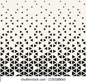 abstract seamless geometric triangle pattern vector background