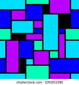 Abstract seamless geometrical pattern.