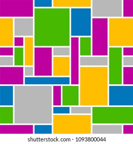 Abstract seamless geometrical pattern background.