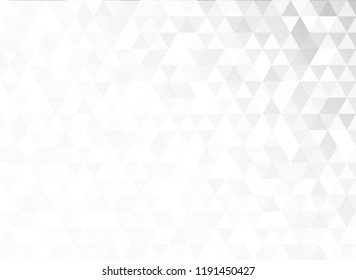 abstract seamless grey triangular geometric shape background