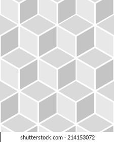 Abstract seamless hexagon pattern