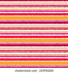 abstract seamless horizontal stripes pattern