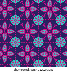 abstract seamless pattern with aurement. background doya textile, fabric, clothing, wrapping paper, web, bedding, socks, concilia.