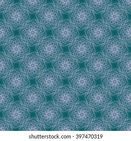 Abstract Seamless Pattern Background with Circles, Lines and Shapes. Vector illustration