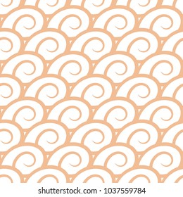 Abstract seamless pattern. Brown beige and white background for textile, wallpapers and fabrics