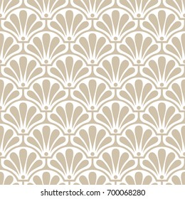 Abstract Seamless pattern. Classical antique ornament. Geometric stylish background.