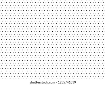 Abstract seamless pattern with dots. Modern black and white texture. Geometric background