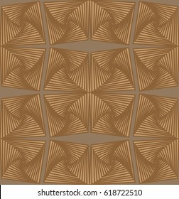 Abstract seamless pattern with geometric elements - rectangle, pyramid
