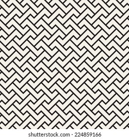 Abstract seamless pattern. Geometric simple background with straight angles. Vector illustration