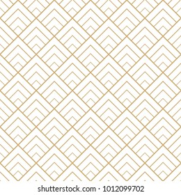 Abstract seamless pattern with golden triangle