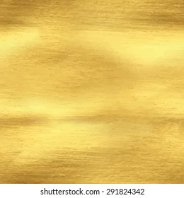 Abstract seamless pattern with hand painted golden texture. Template for your design. Vector illustration