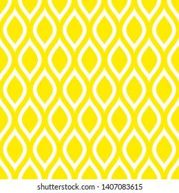 Abstract Seamless Pattern Lemons Yellow
