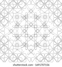 Abstract seamless pattern line design for islamic wallpaper.