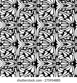 Abstract seamless pattern, vector background.