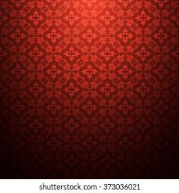 Abstract seamless pattern vintage retro luxury dark shadow background vector