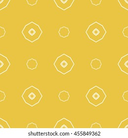 Abstract seamless pattern of yellow color for wallpapers and background. Seamless line geometric background .Straight Lines Background.