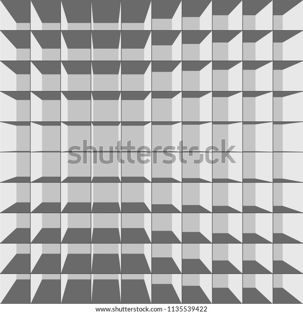 Abstract Seamless Texture 3d Grille Stock Image | Download Now